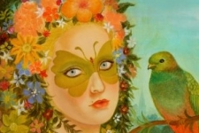 'Nile as Titania (Queen of the faeries)
