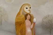 'Owl Shaman Moon Goddess' (Spring Eternal Quartet)